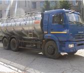 Фотография в Авторынок Автоцистерна пищевая Молоковоз (водовоз) на шасси Камаз 65115, в Ижевске 4360000