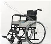 Фотография в Красота и здоровье Товары для здоровья Кресло коляска складная с ручным приводом в Великом Новгороде 8000