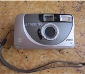 Фото в Электроника и техника Фотокамеры и фото техника Пленочный фотоаппарат Samsung в отличном в Москве 400