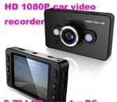 Фото в Авторынок Автомобильные видеорегистраторы Видео Угол обзора: 140 градусов + уровня в Санкт-Петербурге 2100