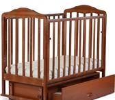 Foto в Для детей Детская мебель Кроватка рекомендована для малышей с рождения в Туле 4000