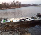 Изображение в Авторынок Водный транспорт Продам Лодка алюминиевая плоскодонка Наша в Владивостоке 84000