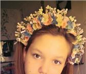 Foto в Одежда и обувь Аксессуары Будь в тренде! Ободки с цветами в наличии в Ижевске 600