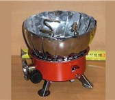 Изображение в Электроника и техника Плиты, духовки, панели Плитка  газовая  лепестковая с ветрозащитой. в Самаре 0