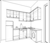 Изображение в Мебель и интерьер Кухонная мебель Изготовление корпусной мебели на заказ:  в Кургане 11000