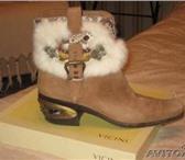 """Изображение в Одежда и обувь Женская обувь Продаются фирменные ботиночки """"Казаки"""" от в Перми 9000"""