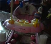 Изображение в Для детей Детская мебель Продам ходунки-кресло качалка, цвет розовый в Ярославле 1700
