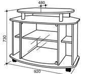 Изображение в Мебель и интерьер Мебель для гостиной ш=920 мм, г=480 мм, в=722 ммСостоит из: места в Тюмени 3600