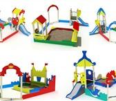 Изображение в Мебель и интерьер Мебель для детей Решив купить песочные дворики с горкой в в Москве 80451