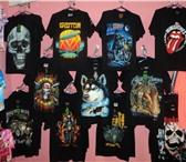 Изображение в Одежда и обувь Мужская одежда футболки рок,металл,рокер,череп и др.100 в Хабаровске 850