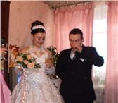 Фотография в Одежда и обувь Свадебные платья Продается свадебное платье, спина открытая, в Пскове 7000