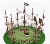 Фото в Развлечения и досуг Другие развлечения Веревочный парк представляет собой последовательность в Казани 500000