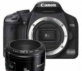 Фотография в Электроника и техника Фотокамеры и фото техника Продаю фотоаппарат Сanon 450D. К комплекте в Новосибирске 20000