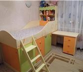Foto в Мебель и интерьер Мебель для детей Кровать б/у, матрас в комплекте.Внизу кровати в Оренбурге 13000