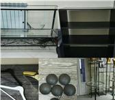 Фотография в Мебель и интерьер Офисная мебель Ресепшн серый 15000р3. Стойка круглая 4000р4. в Тюмени 5000