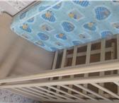 Изображение в Для детей Детская мебель Кроватка сочетает в себе: кроватку, комод в Липецке 7300
