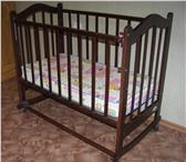 Foto в Для детей Детская мебель Продам детскую кроватку с матрасиком в Хабаровске 2000