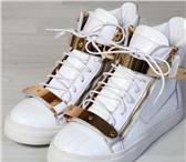 Фотография в Одежда и обувь Мужская обувь кеды Giuseppe Zanotti белые. 41 размер. новые. в Перми 7990