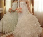 Foto в Одежда и обувь Свадебные платья Продаю шикарное свадебное платье,    производство в Иркутске 22000