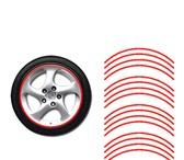 Изображение в Авторынок Тюнинг Наклейки на диски светоотражающие красные.Состоит в Москве 500