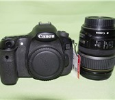 Foto в Электроника и техника Фотокамеры и фото техника Canon-60D+ 2 аккумулятора, зарядка, вспышка в Таганроге 36000