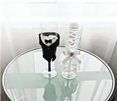 Foto в Одежда и обувь Аксессуары Продаю свадебные бокалы в костюмчиках жениха в Нижнем Новгороде 1000