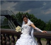 Foto в Одежда и обувь Свадебные платья Продаю свадебное платье,  белого цвета,  в Москве 15000