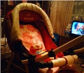 Изображение в Для детей Детские коляски Продам коляску детскую зима-лето.   Комплектация:пер в Челябинске 3500