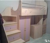 Изображение в Мебель и интерьер Мебель для детей Длина 2.8,стол-1.24,орто матрас,мебель б/у.Новая в Ярославле 11500